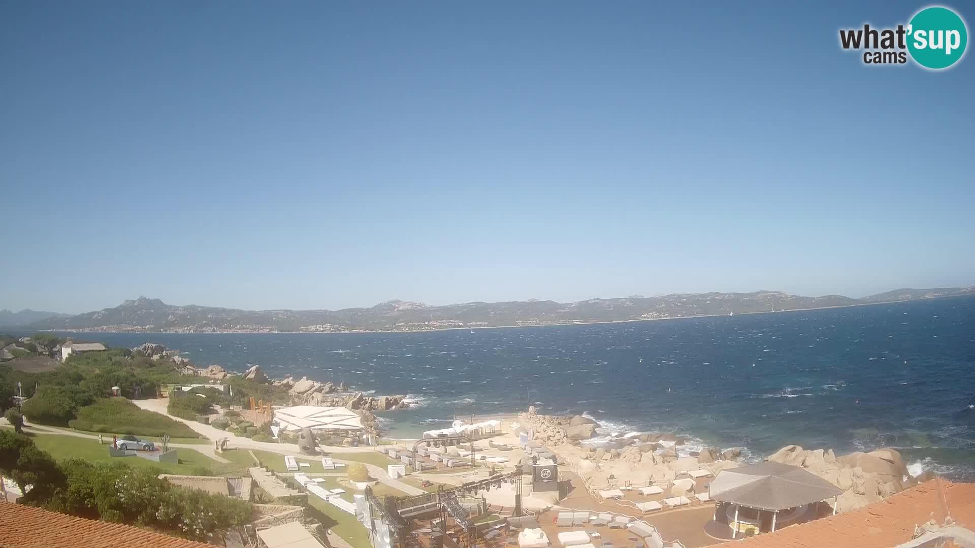 Live webcam Phi Beach – Forte Cappellini livecam Porto Cervo – Arzachena – Sardinia