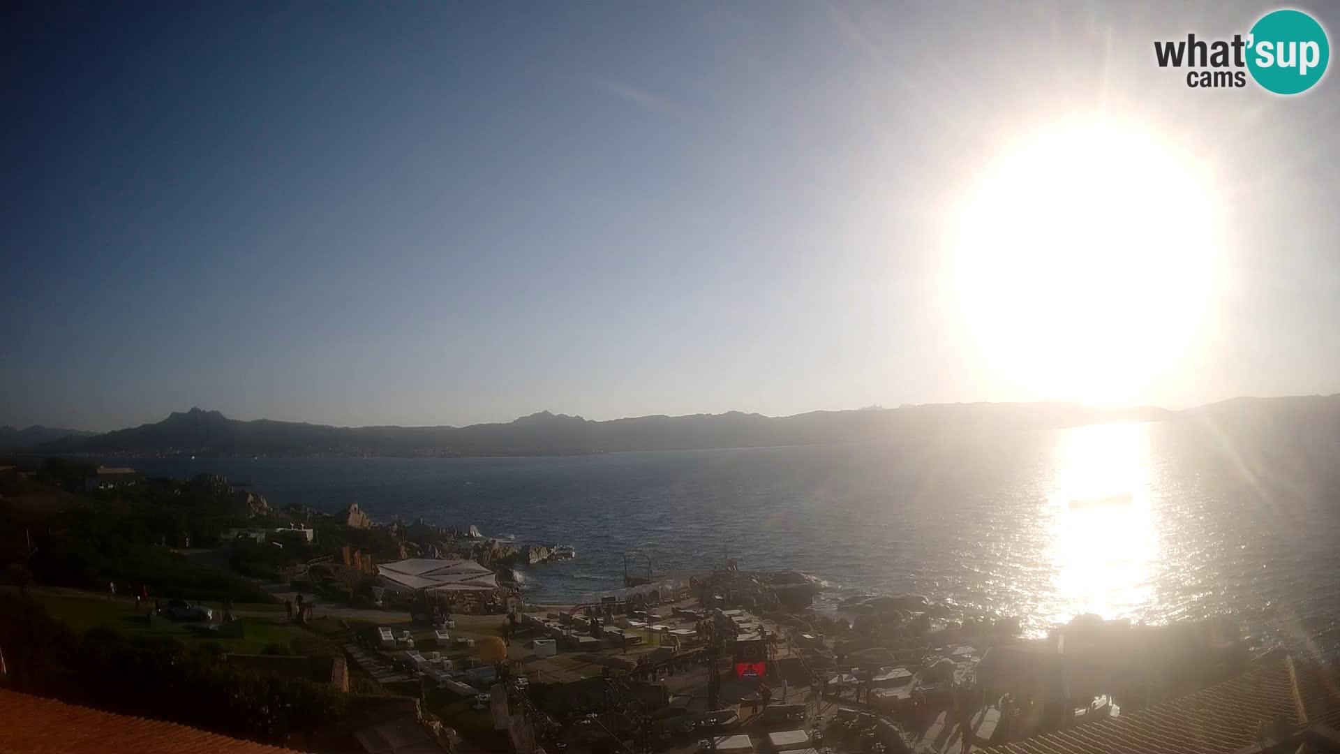 Live Phi Beach – Forte Cappellini camera en vivo Porto Cervo – Arzachena – Cerdeña