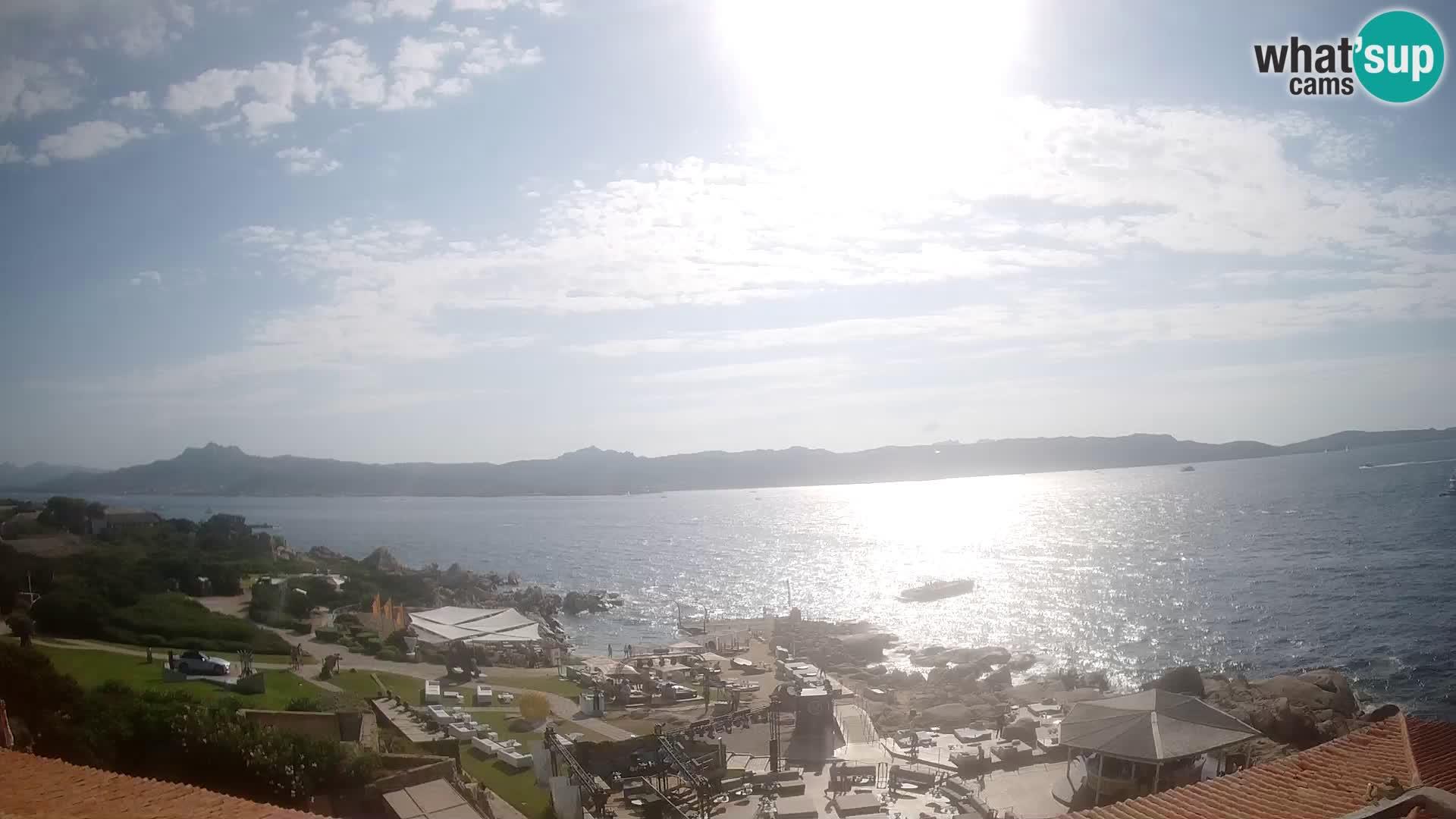 Livecam Phi Beach – Forte Cappellini webcam Porto Cervo – Arzachena – Sardaigne