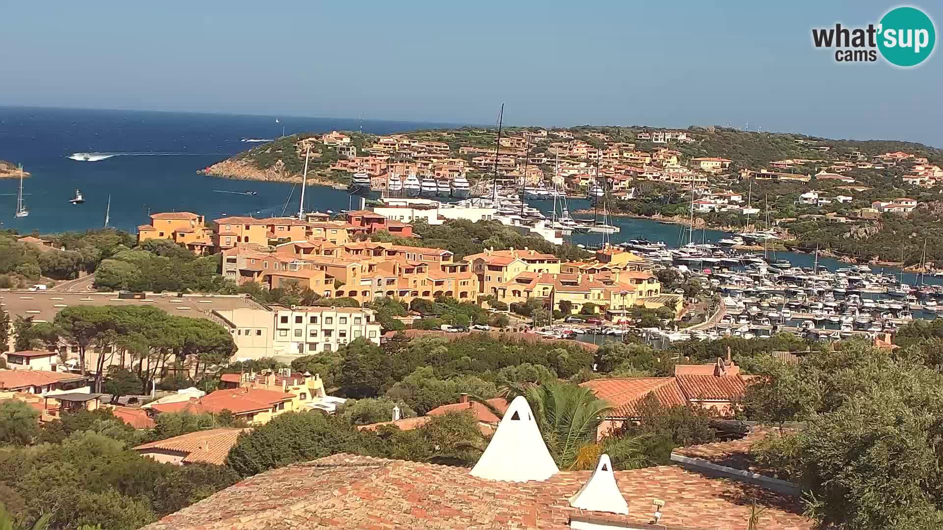La belle webcam en direct de Porto Cervo – Sardaigne – Italie