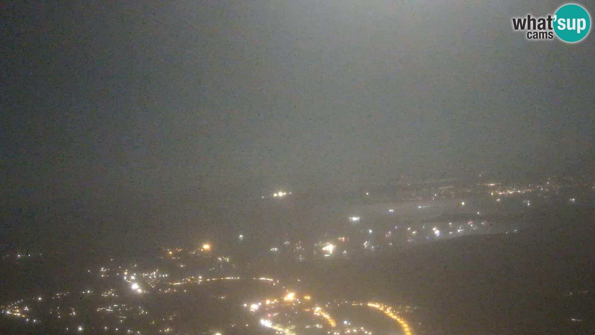 Monte Moro live cam Costa Smeralda Panoramablick Sardinien
