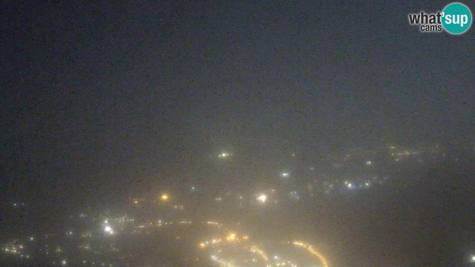 Monte Moro spletna kamera Costa Smeralda panoramski pogled na Sardinijo
