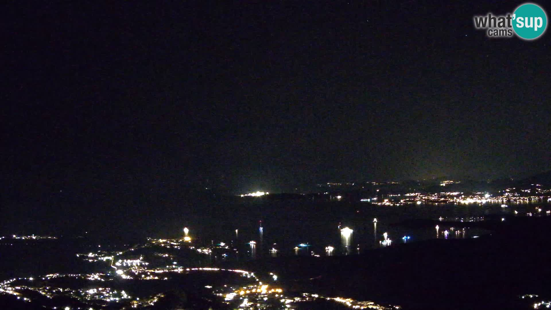 Monte Moro webcam Costa Smeralda panoramic view Sardinia