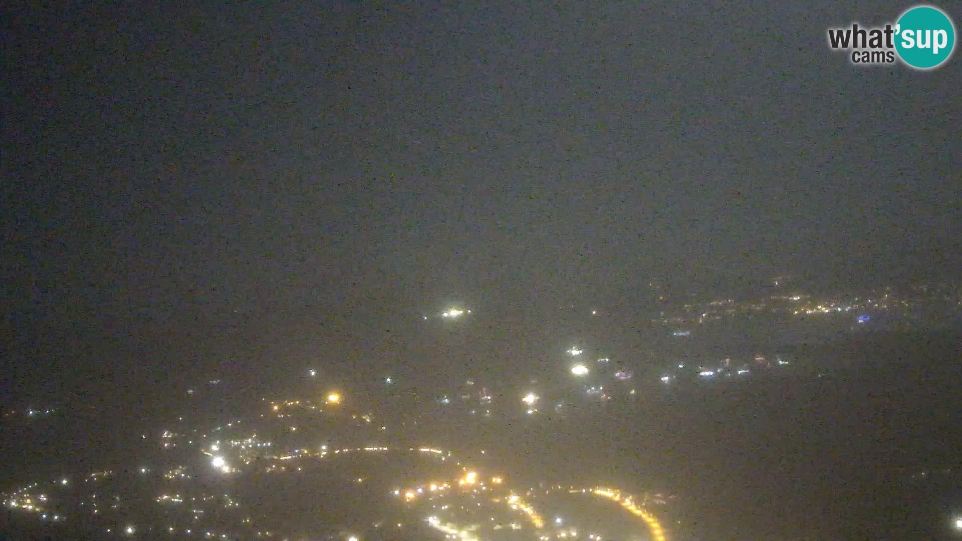 Monte Moro camera en vivo Costa Smeralda vista panorámica Cerdeña