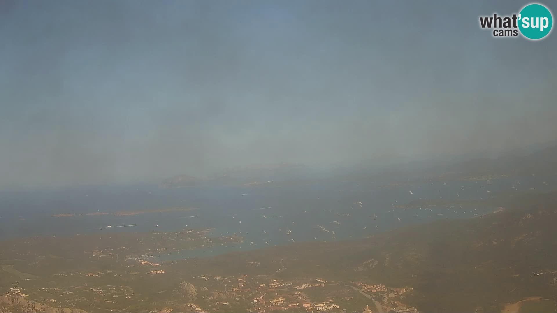 Monte Moro webcam Costa Smeralda vista panoramica Sardegna