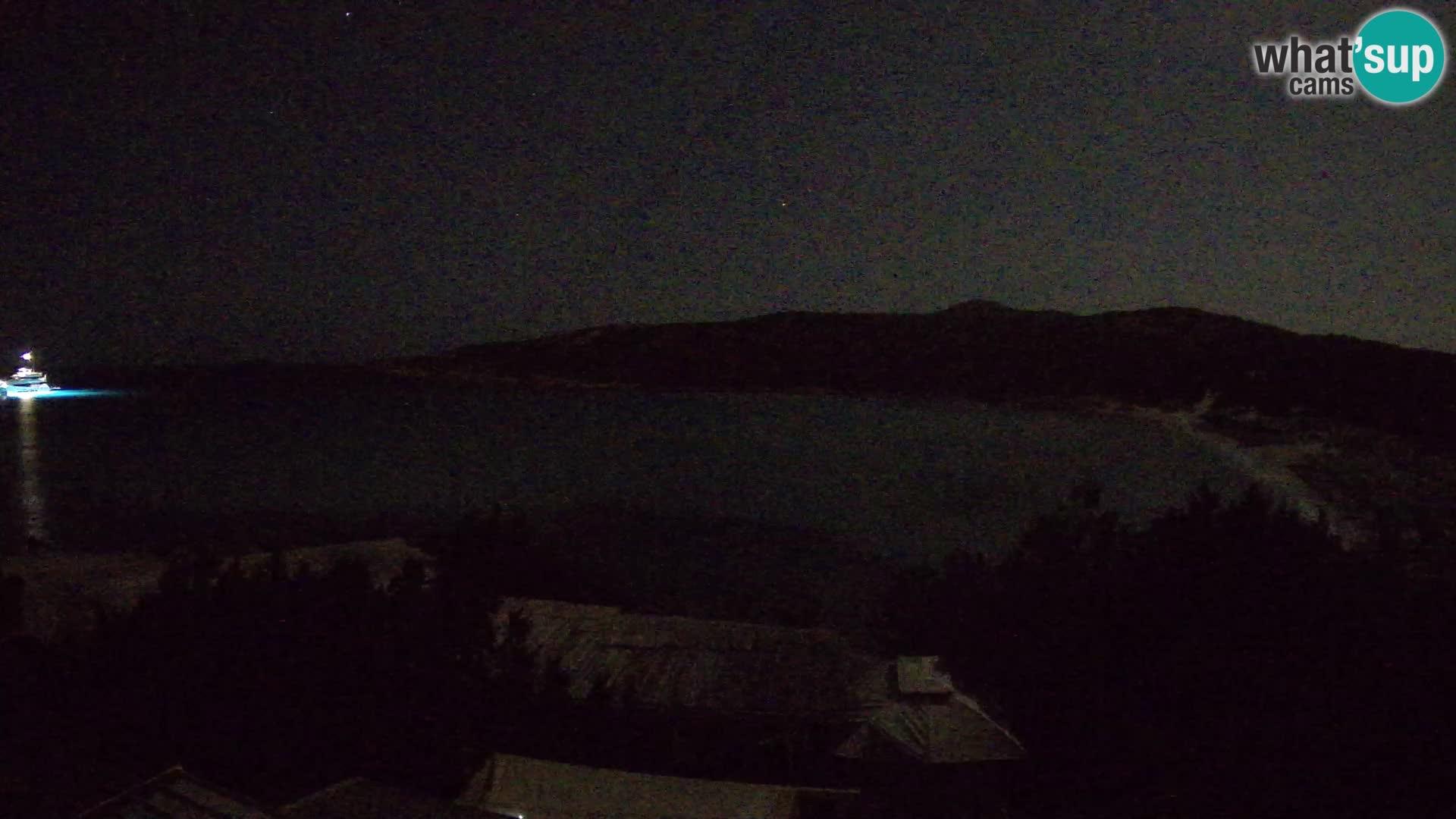 Spletna kamera na plaži Pevero v živo Arzachena – Sardinija – Italija
