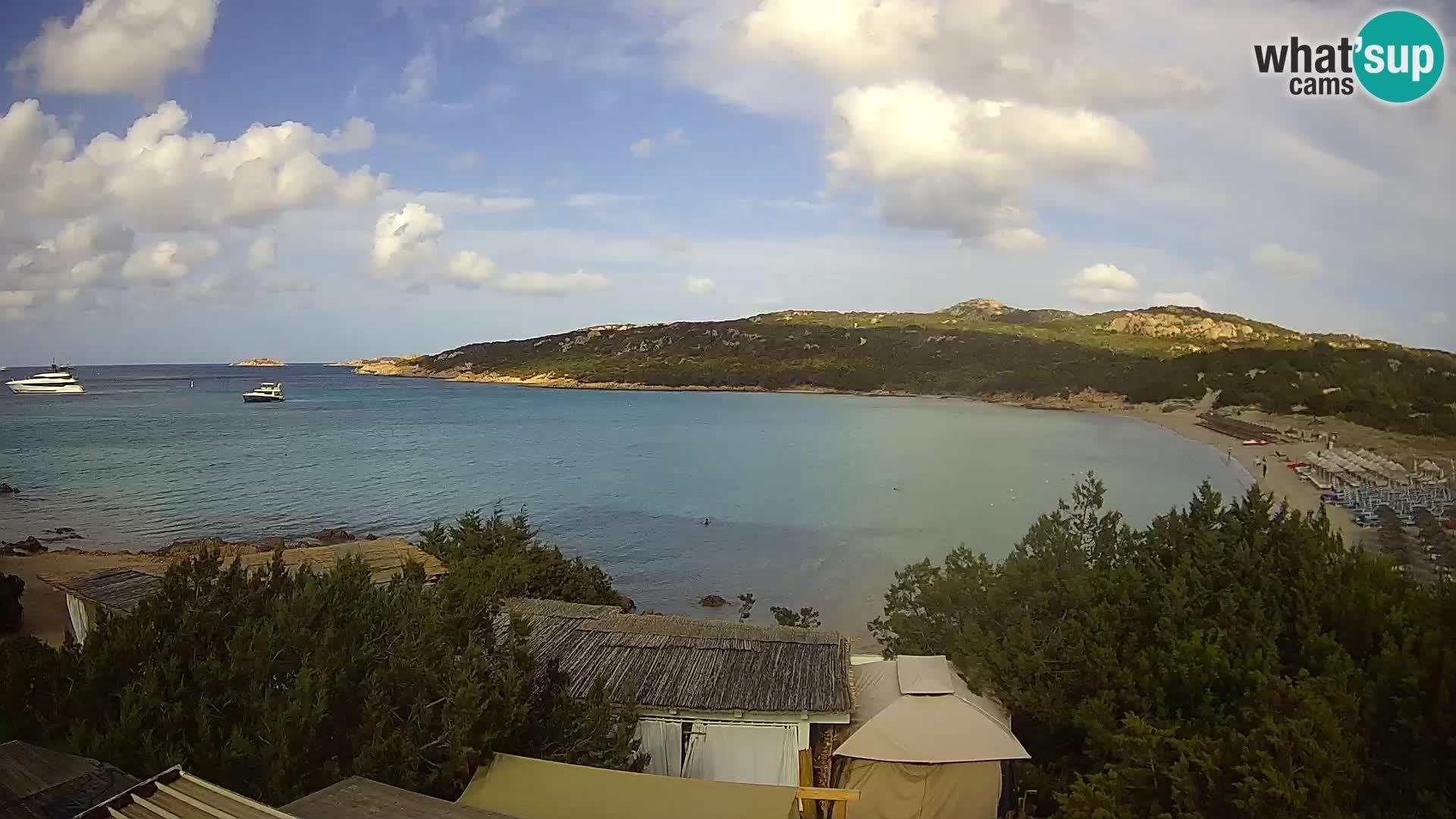 Webcam en direct de la plage de Pevero Arzachena – Sardaigne – Italie