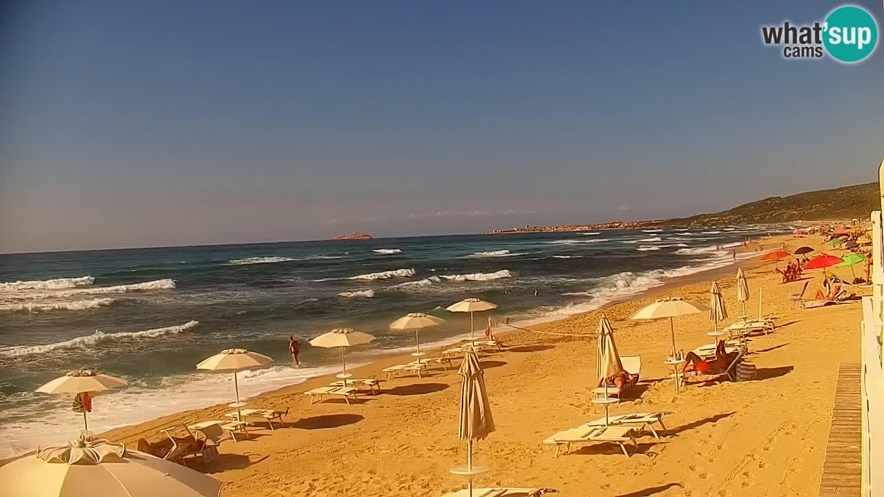 LIVE Webcam Strand Badesi Li Junchi – Sardinien Tourismus Italien
