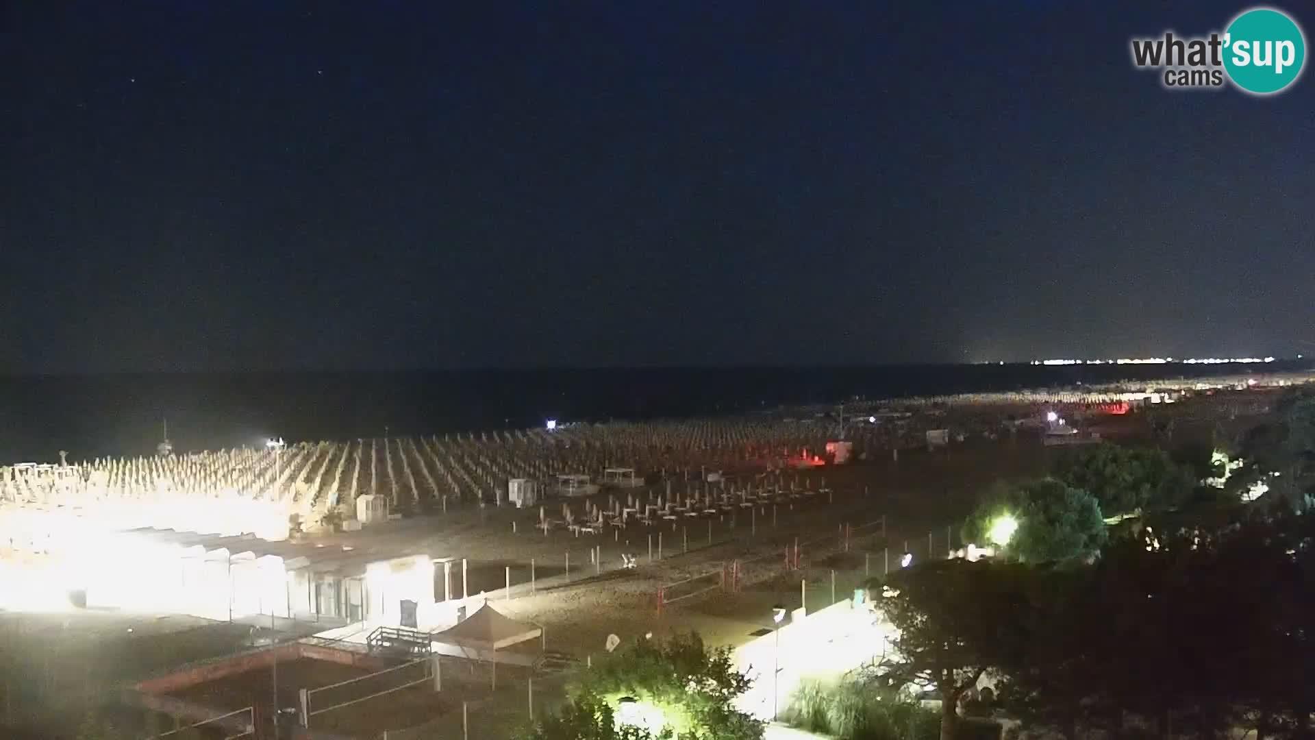 Live Webcam Bibione spiaggia – vista dall'Ashanti ApartHotel