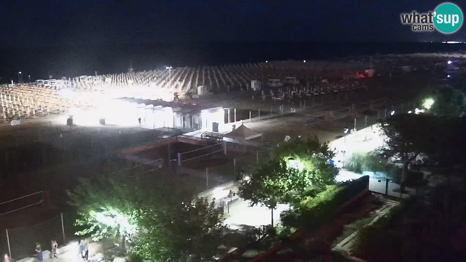 Live Webcam Bibione Strand – Blick vom Ashanti ApartHotel