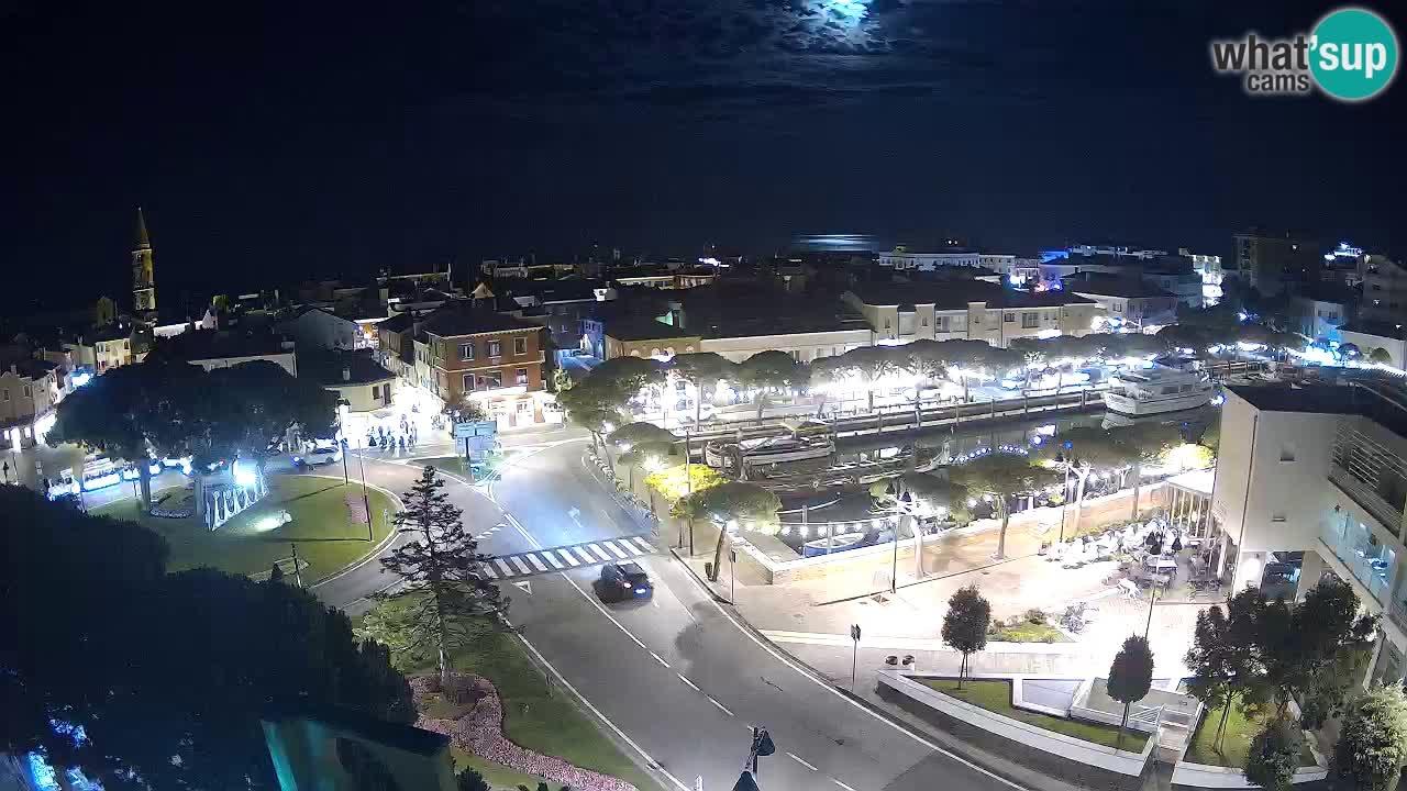 Entrance to Caorle – Webcam live