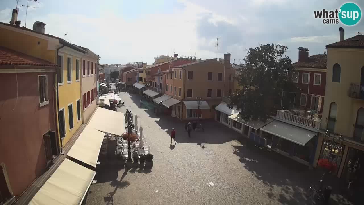 Caorle webcam – Old Town