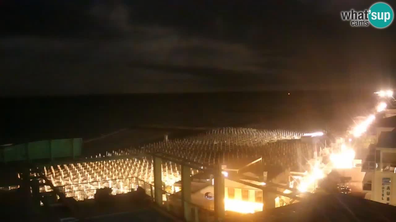 Webcam Caorle, Spiaggia di Ponente - What´s Up Cams