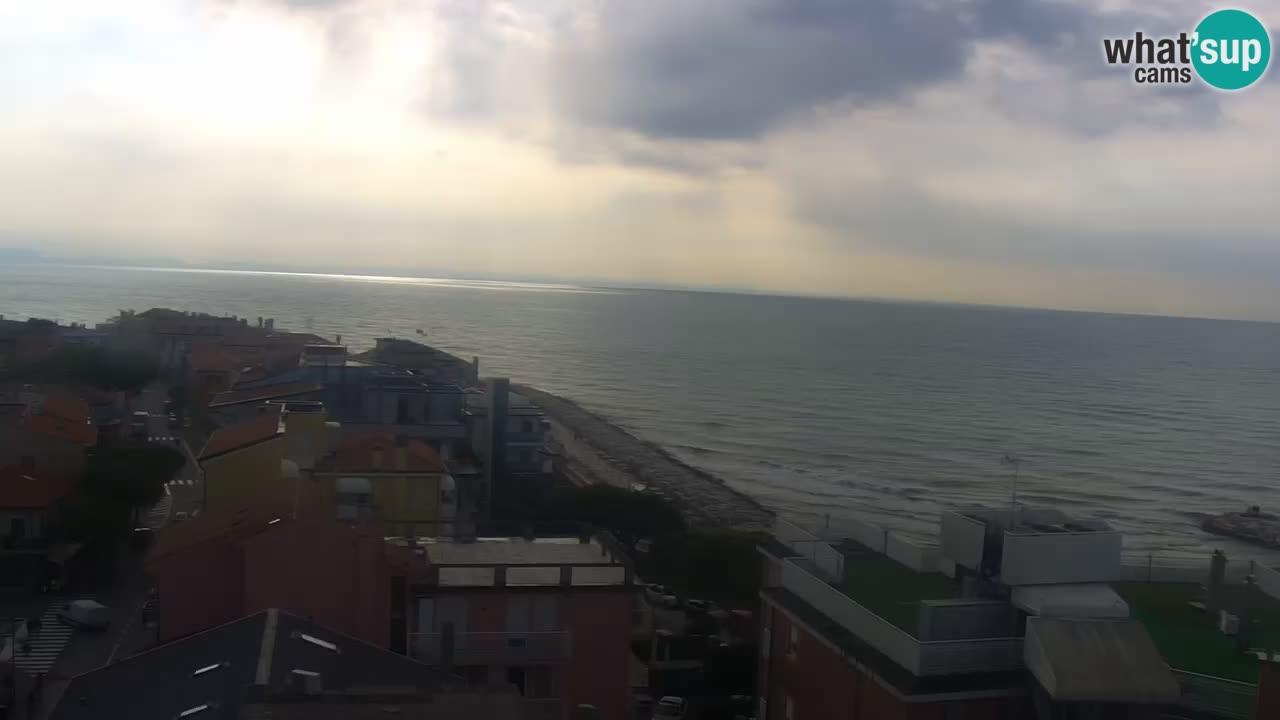 Caorle – Ponente beach webcam live