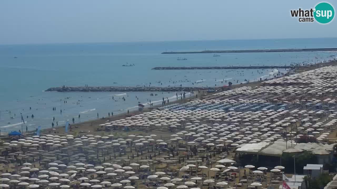 Webcam Caorle – Ponente west beach