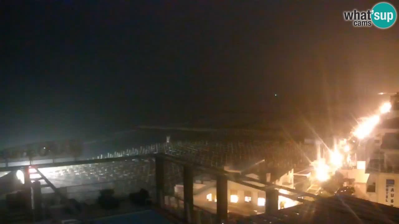 Web kamera Caorle – Plaza Ponente sa Hotela Marco Polo