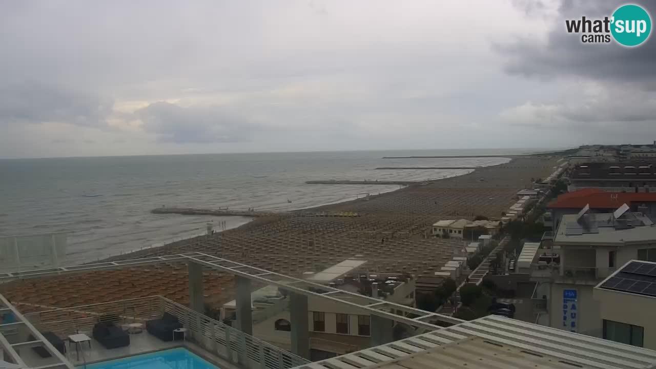 Caorle – plaža Ponente