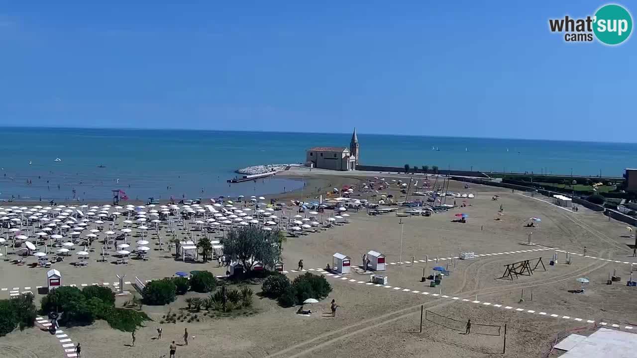 Spletna kamera Caorle plaža Levante – Hotel Stellamare