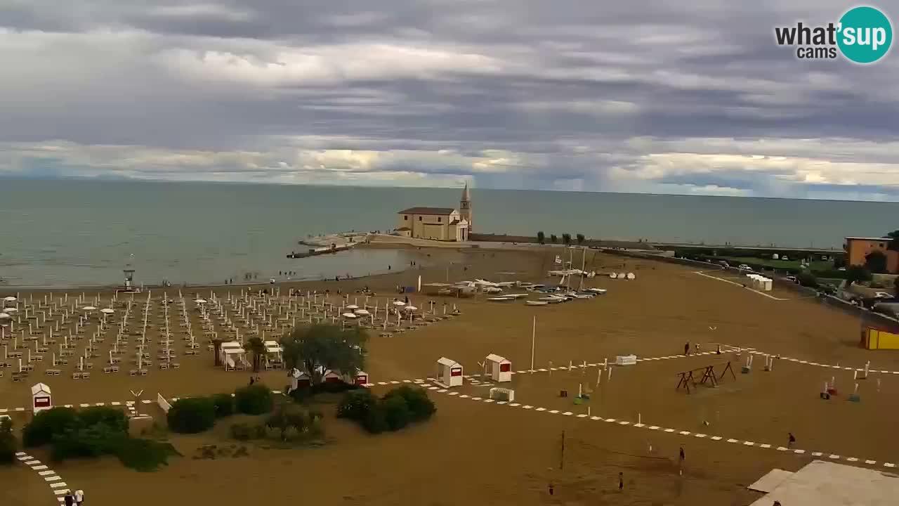 Webcam Caorle – La spiaggia di Levante – Hotel Stellamare