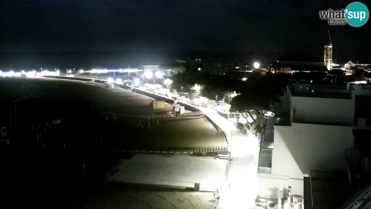 Webcam Caorle Spiaggia di Levante – Hotel Stellamare