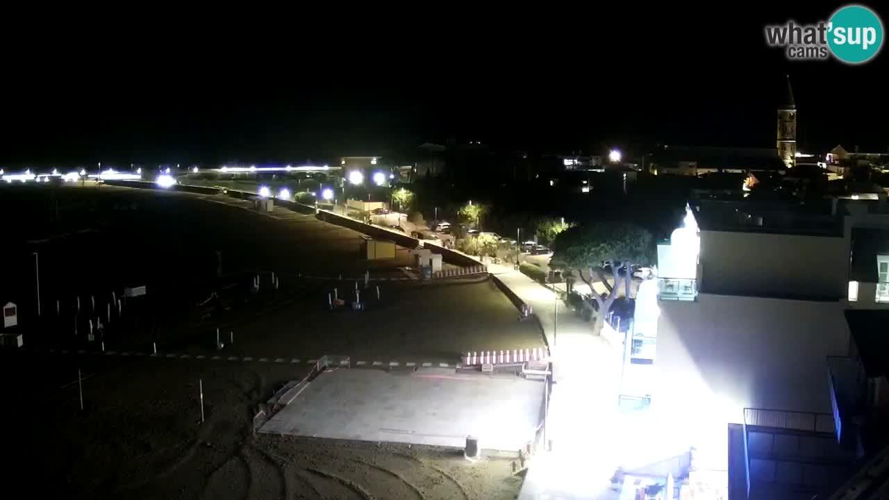 Livecam Caorle – Plage de Levante – Hotel Stellamare