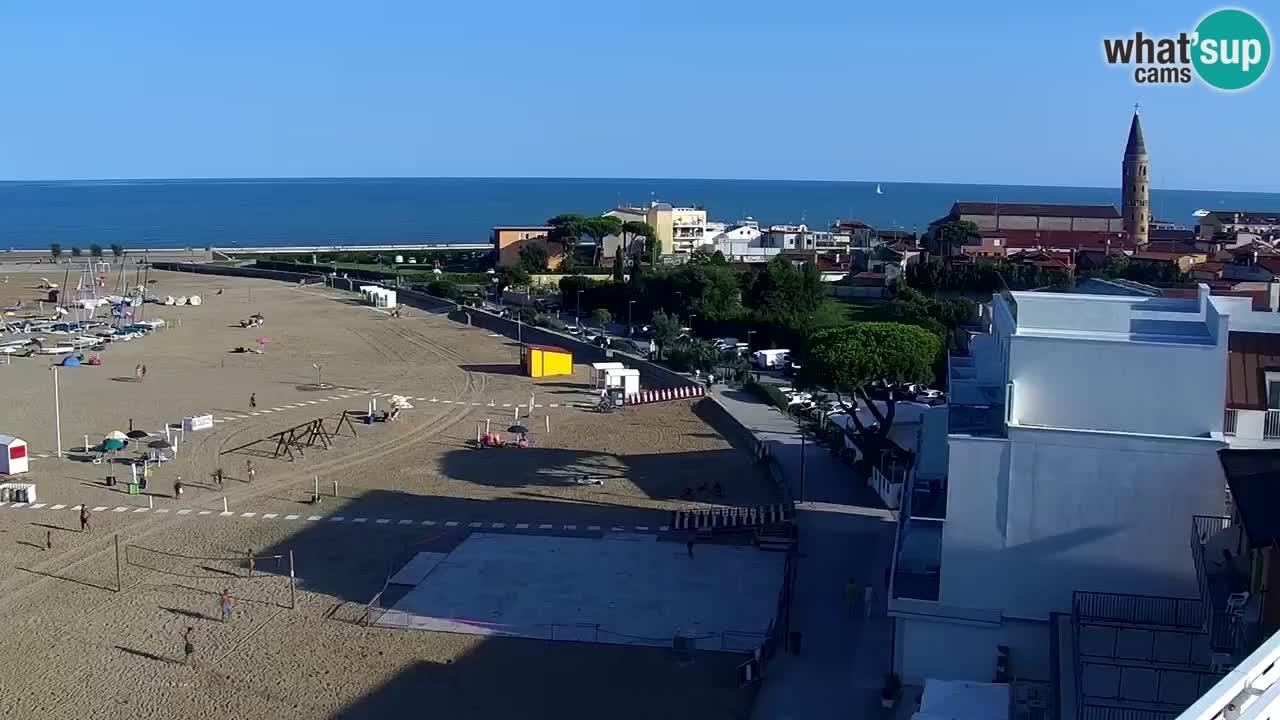 Webcam Caorle – Levante beach live