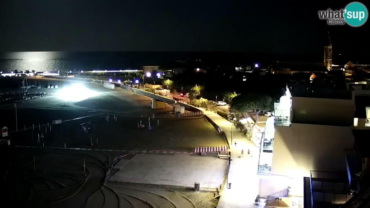 Caorle webcam – Levante beach – Hotel Stellamare