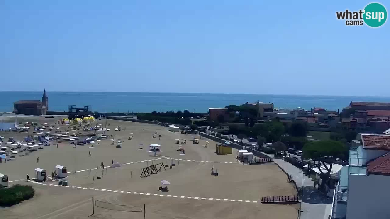 Caorle webcam – Playa di Levante – Hotel Stellamare