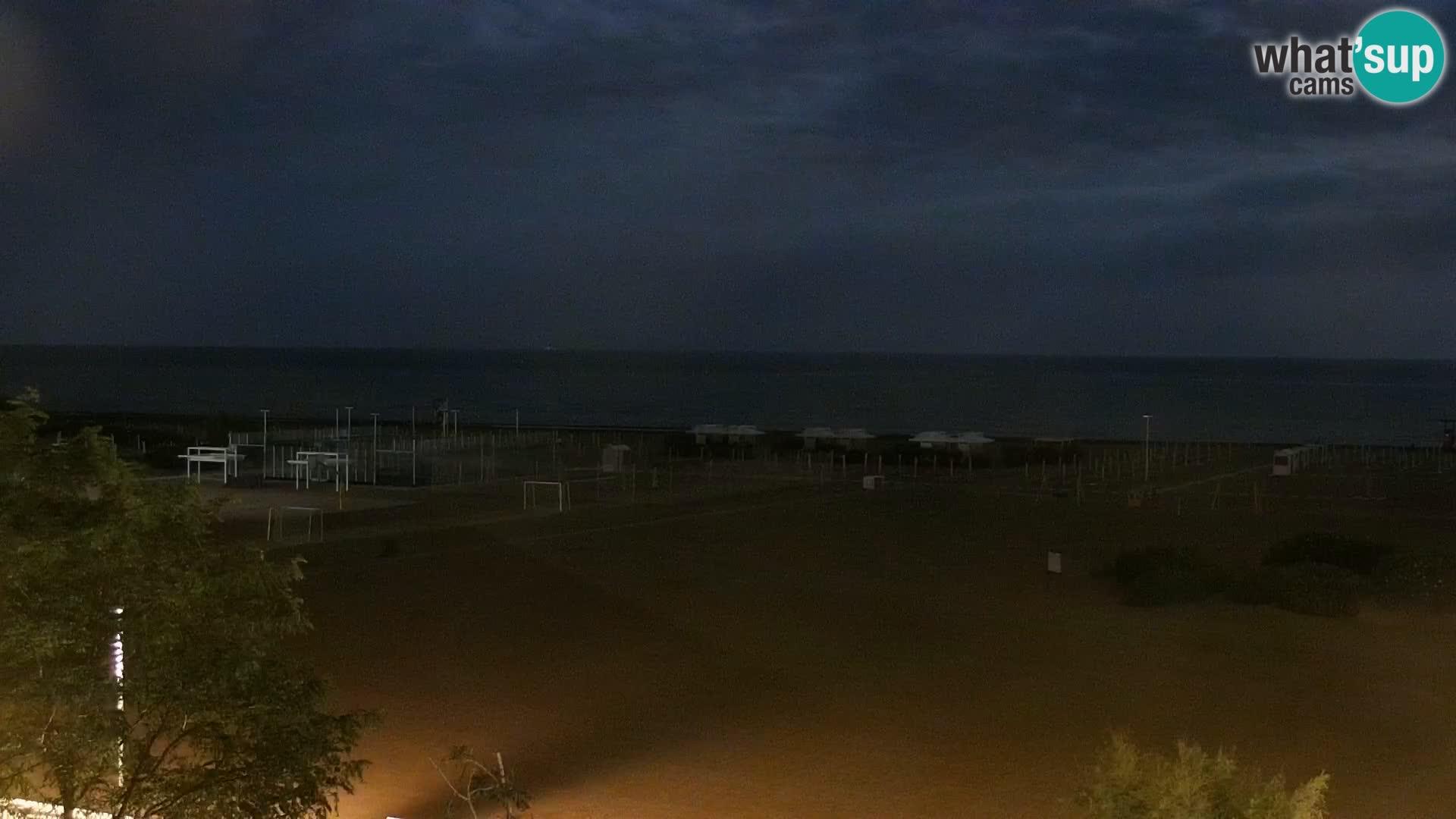 Webcam Caorle, Spiaggia di Levante - What´s Up Cams