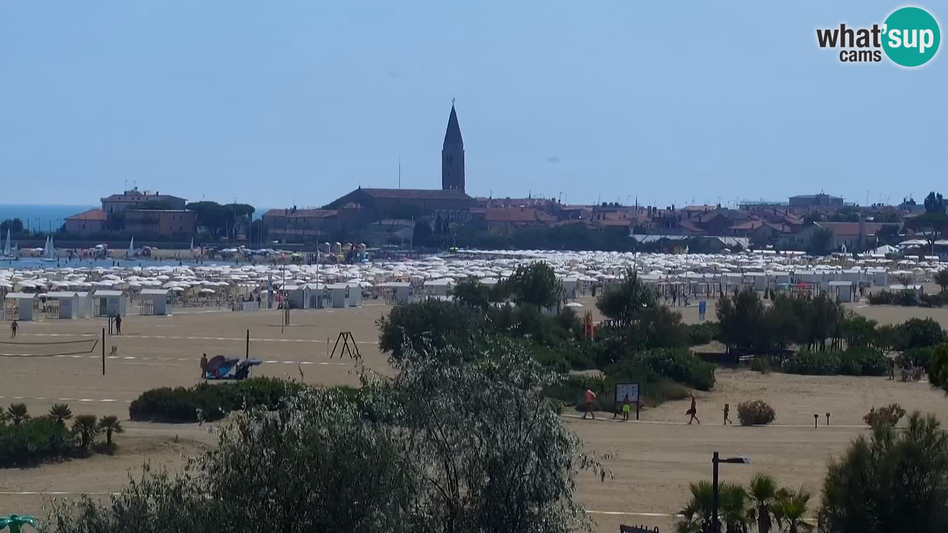 Camera en vivo Caorle – Playa Levante – Hotel Alexander