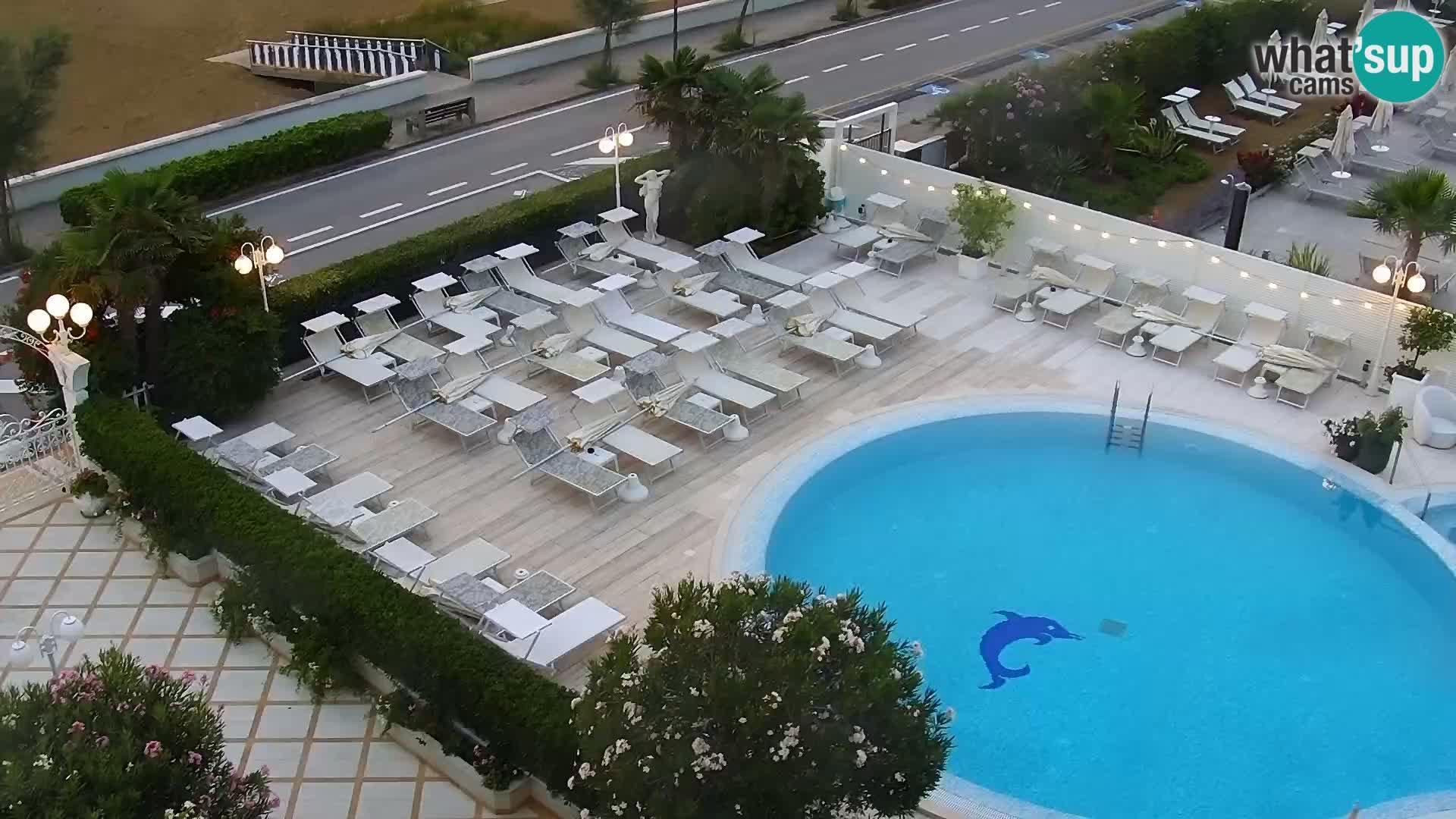 Live webcam Caorle – Spiaggia Levante – Hotel Alexander