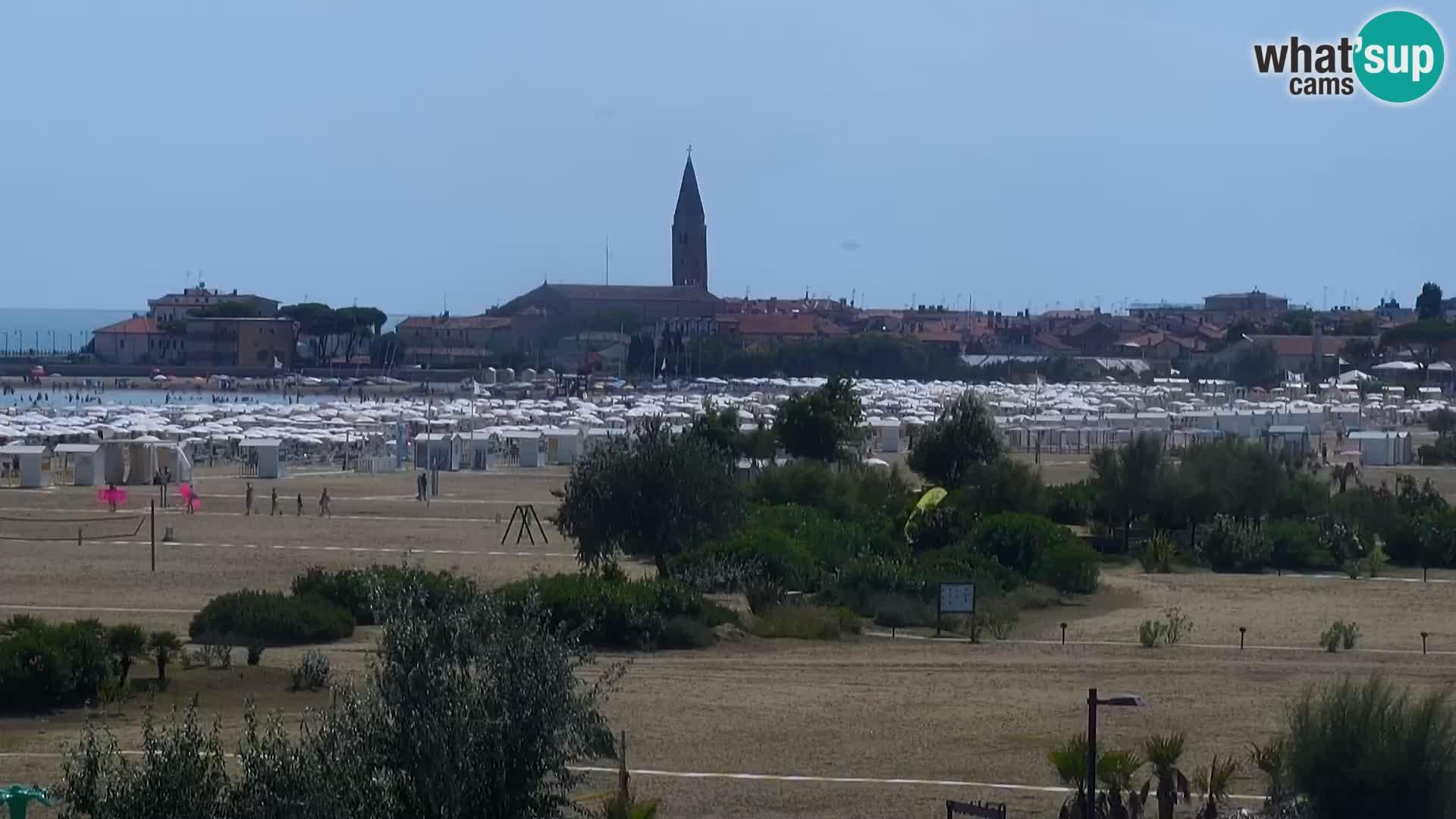 Webcam Caorle Levante beach – Hotel Alexander