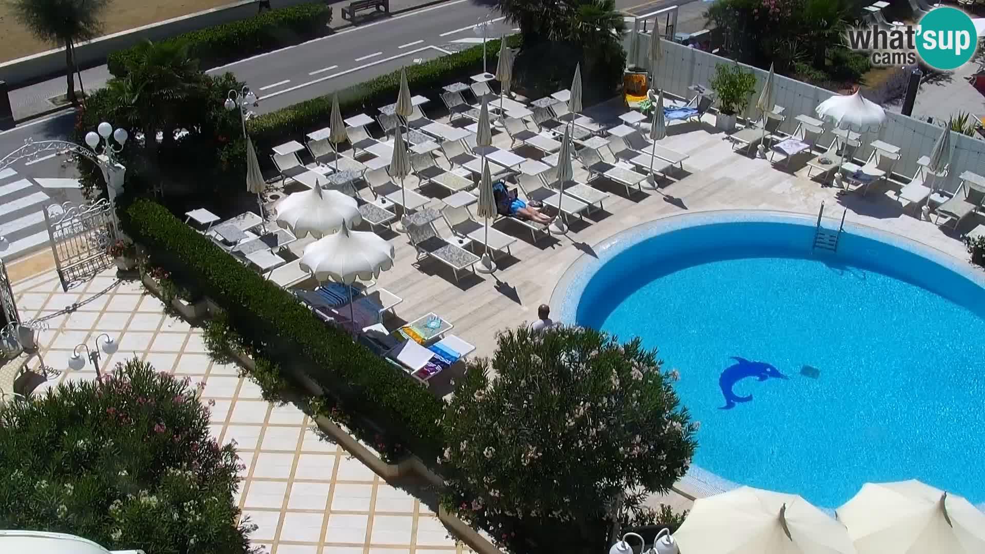 Webcam Caorle Strand Levante – Hotel Alexander