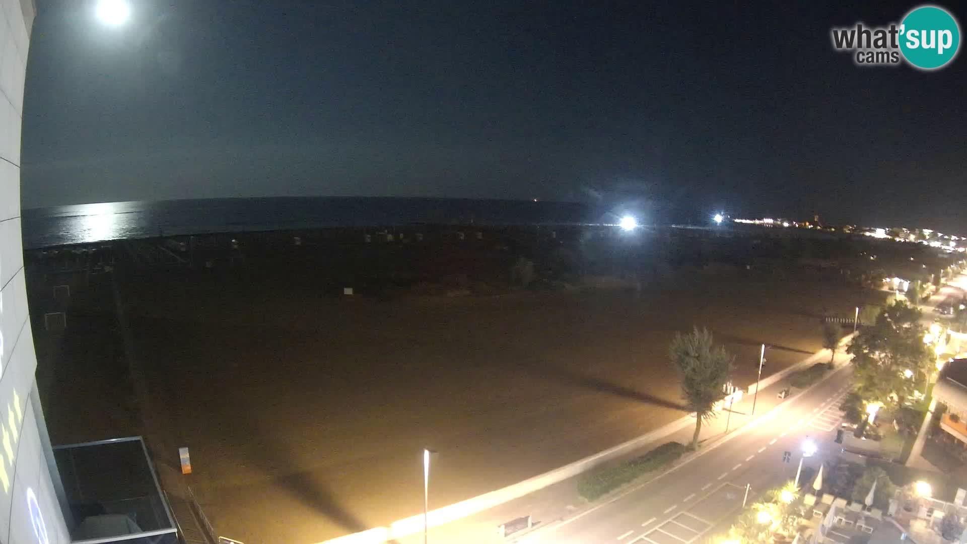 Hotel Panoramic en vivo Caorle playa Levante webcam – Italia