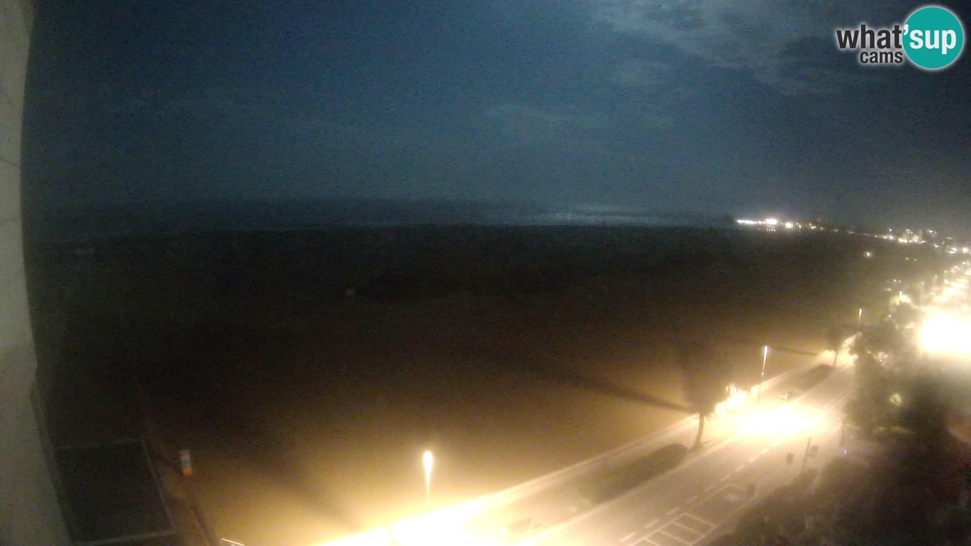 Hotel Panoramic v živo Caorle plaža Levante spletna kamera – Italija