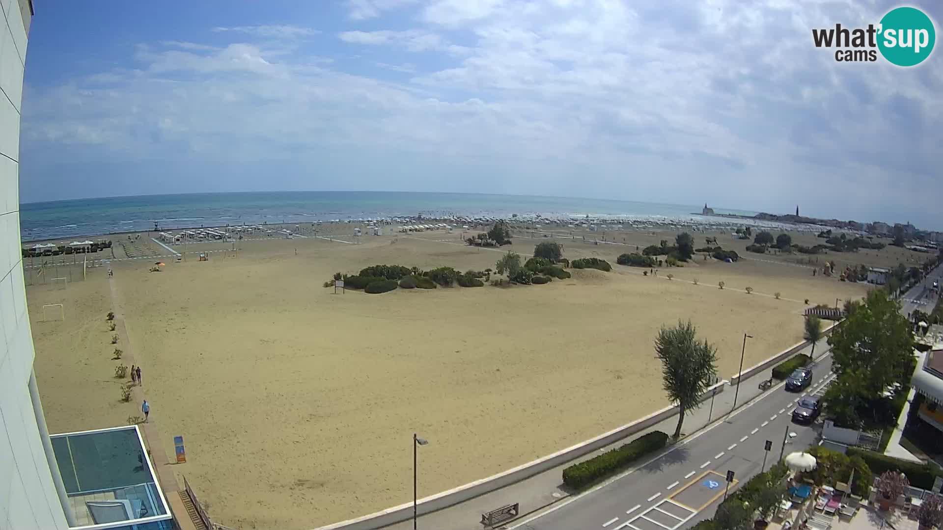 Hotel Panoramic Live cam Caorle plage Levante webcam – Italie