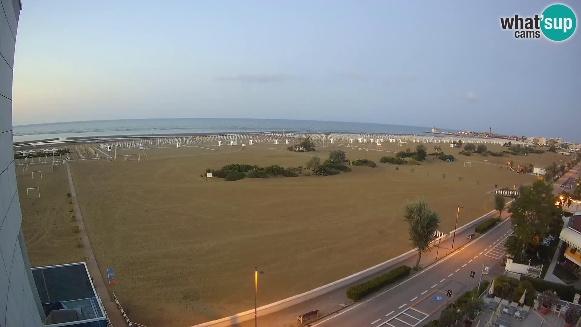 Hotel Panoramic webcam Caorle strand Levante live – Italien