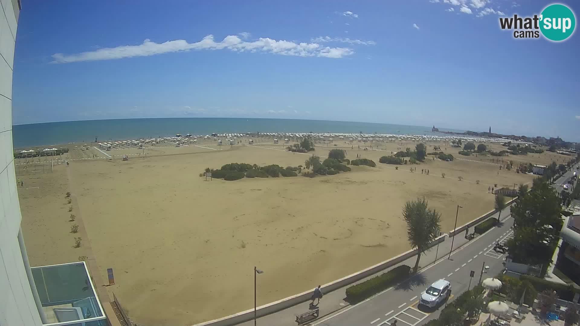 Hotel Panoramic u živo Caorle plaža Levante web kamera – Italija