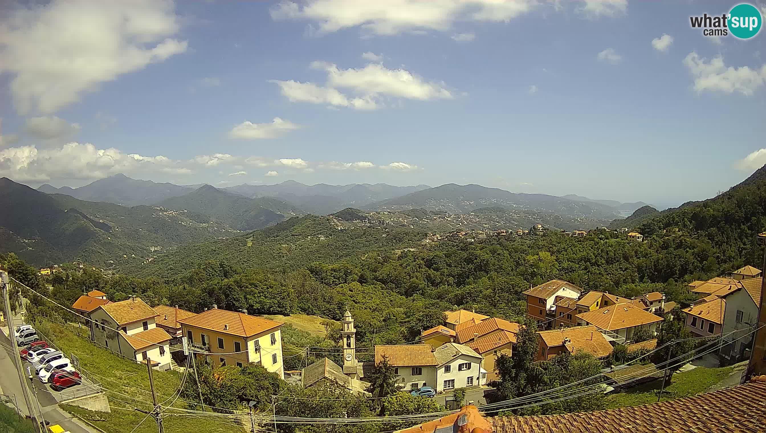Chiavari web kamera Villa Oneto