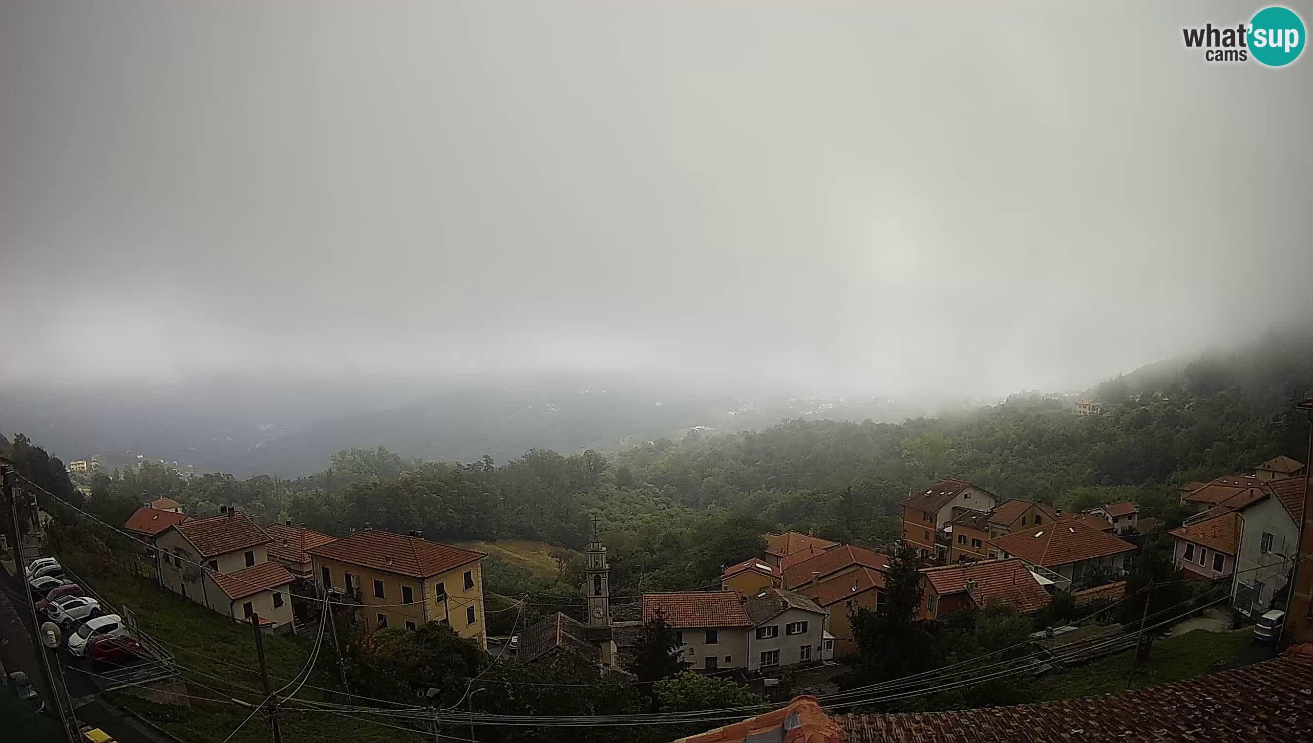 Live Chiavari webcam Villa Oneto