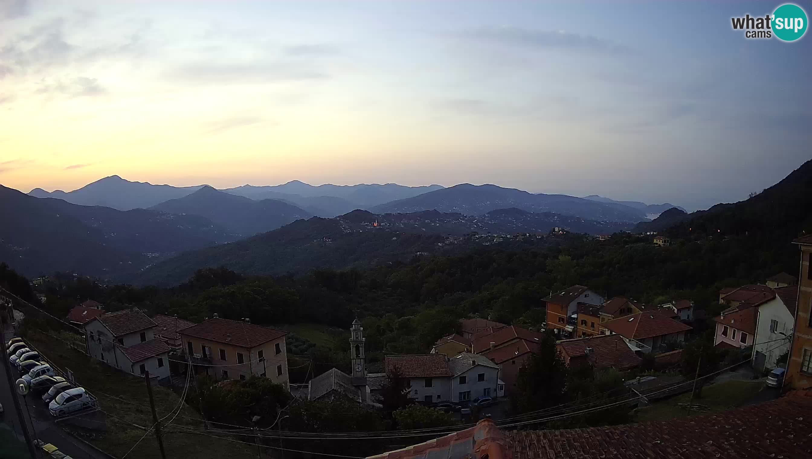 Live webcam Chiavari – Villa Oneto – Leivi