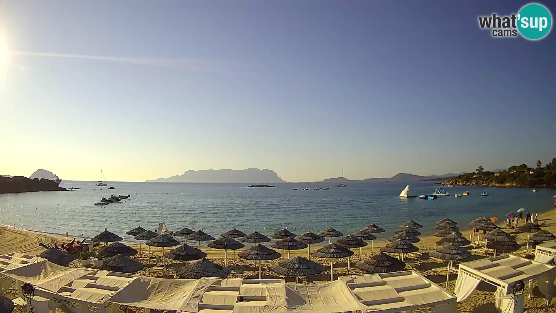 Cala Sassari Strand Live Webcam Golfo Aranci – Sardinien