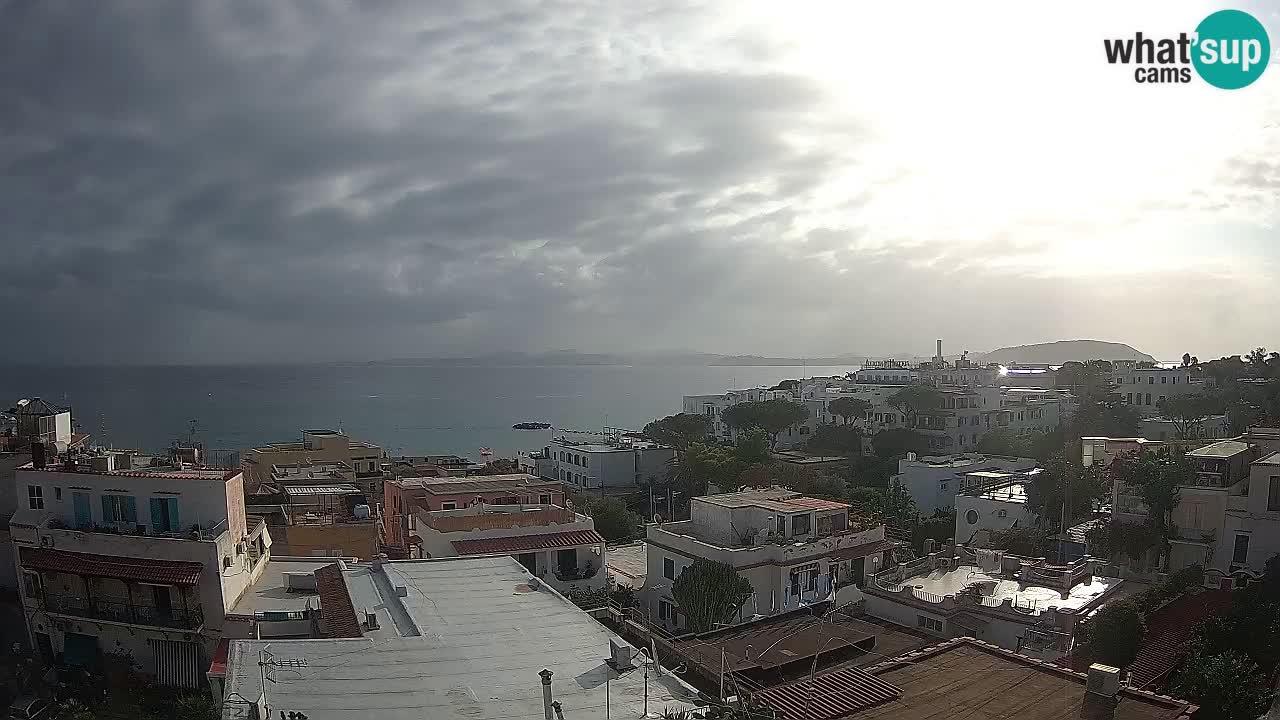 LIVEcam Ishia – il golfo di Napoli e l'isola di Procida webcam