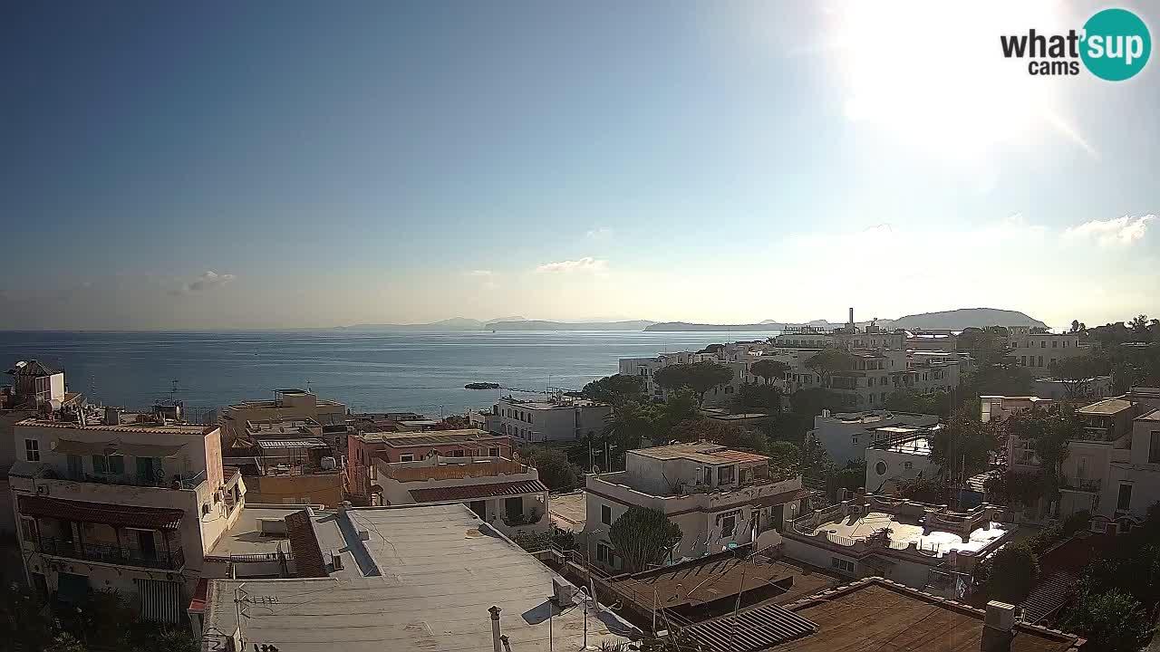 Ischia camera en vivo – El golfo de Nápoles y la isla de Procida livecam