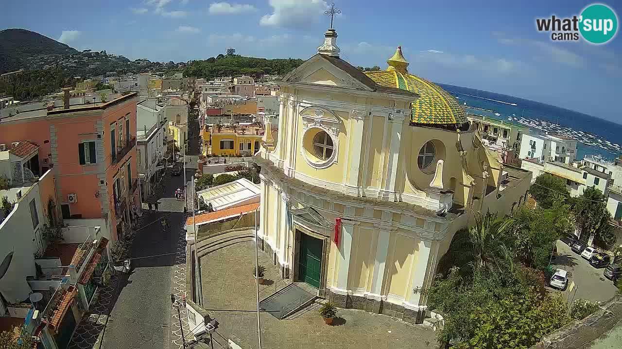 ISCHIA kamera v živo – Cerkev Santa Maria delle Grazie in San Pietro