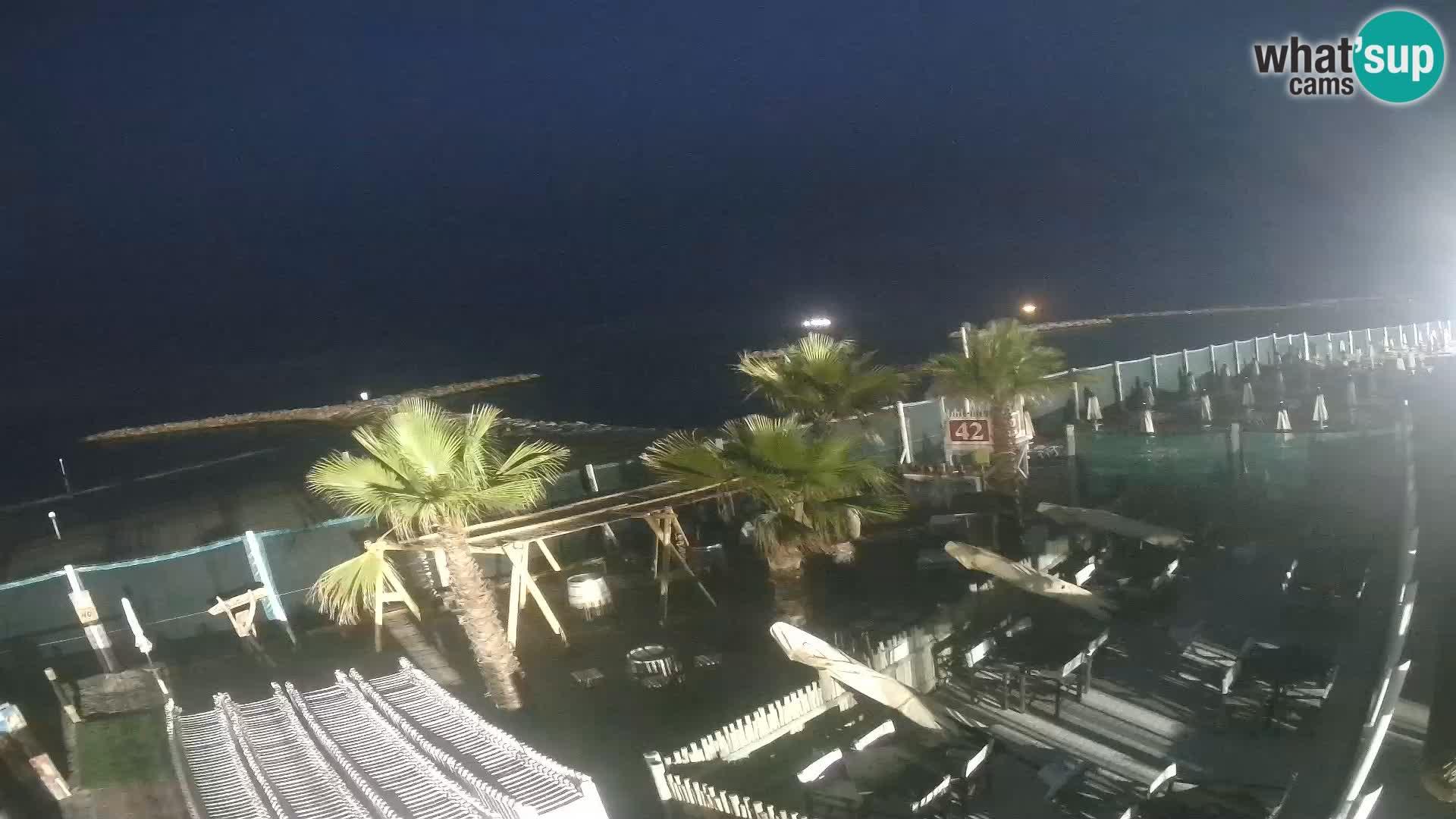 """Live Cam """"Bagni capannina""""  – Isola verde – Chioggia"""