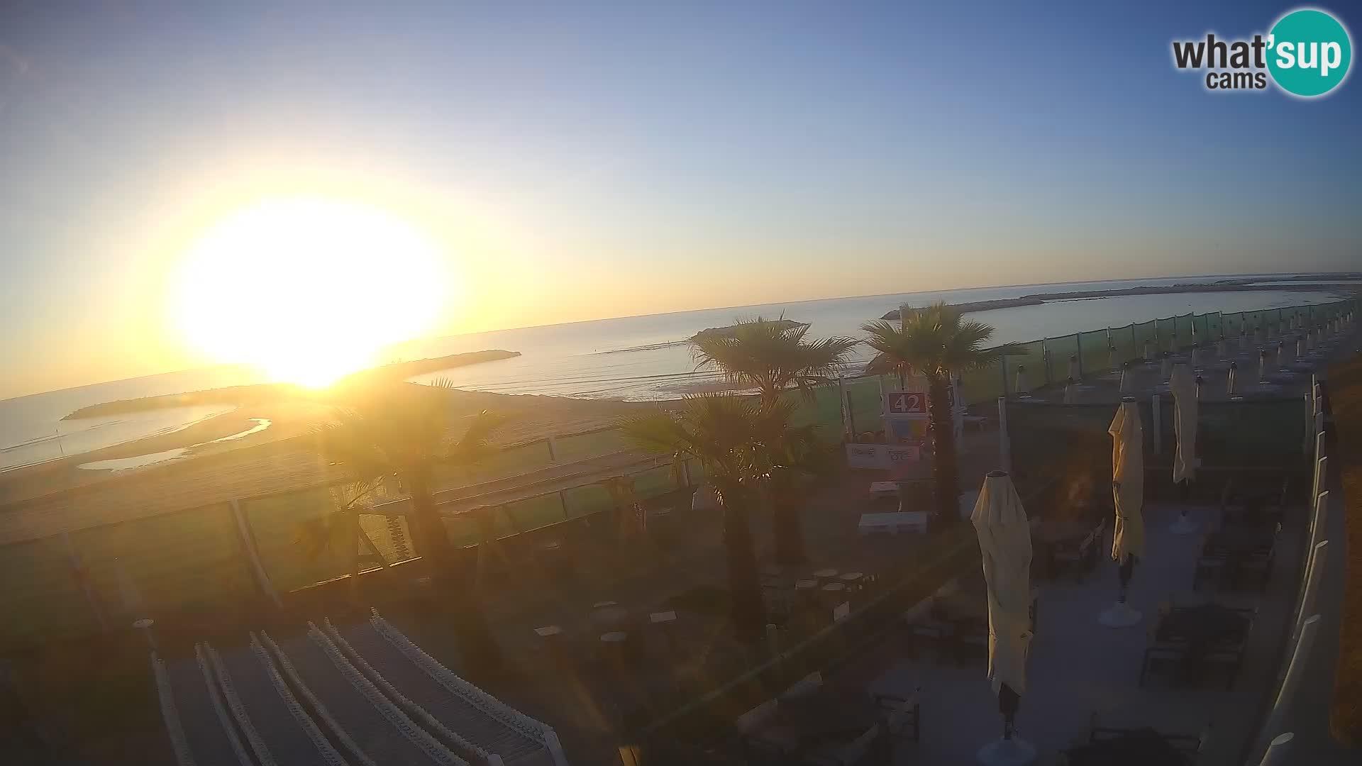 """Webcam """"Bagni capannina""""  – Isola verde – Chioggia"""