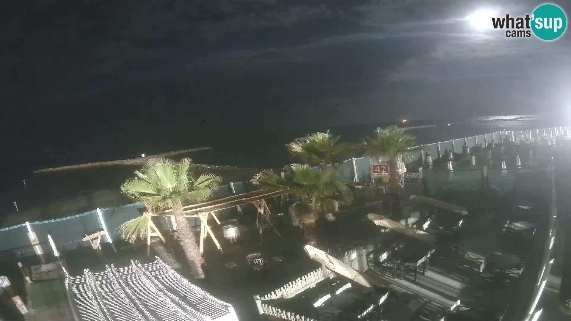 """Livecam """"Bagni capannina""""  – Isola verde – Chioggia"""