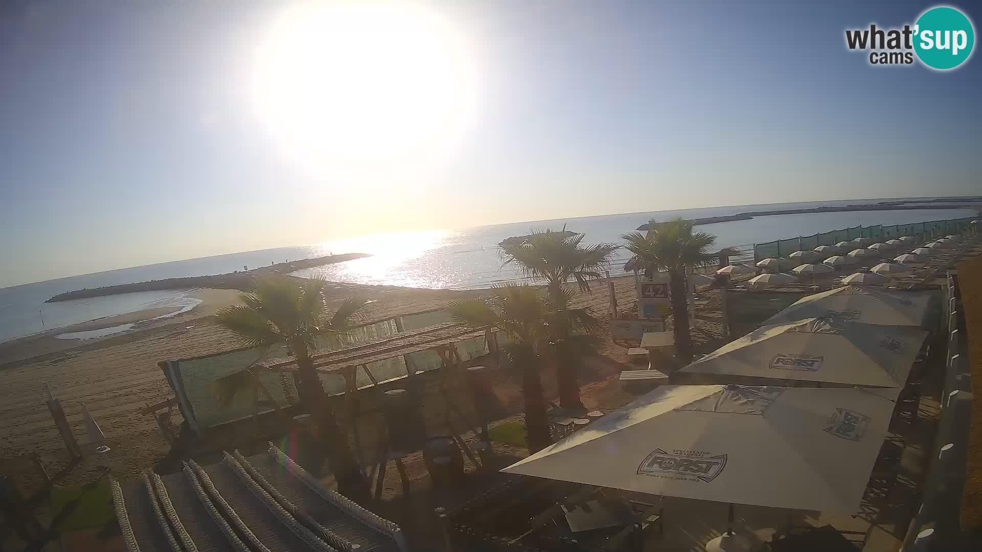 """Kamera v Zivo """"Bagni capannina""""  – Isola verde – Chioggia"""