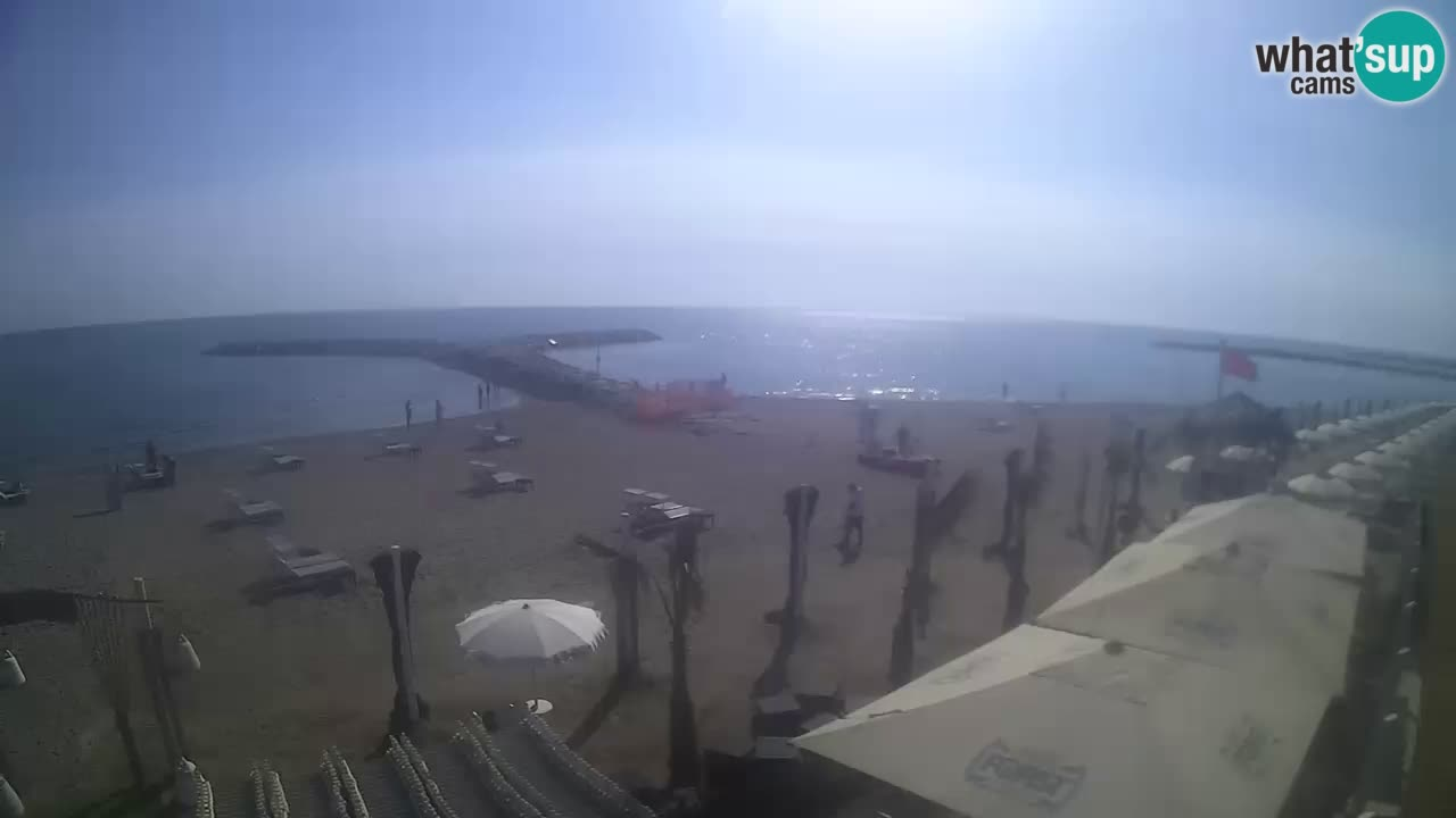 "Web Kamera ""Bagni capannina""  – Isola verde – Chioggia"